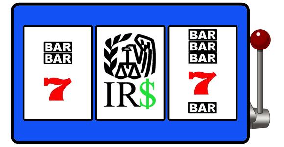IRS taxes slots