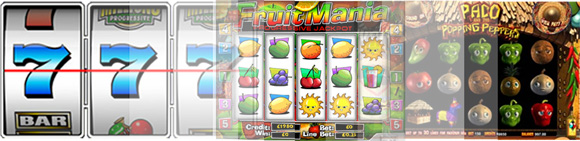 slot games offered