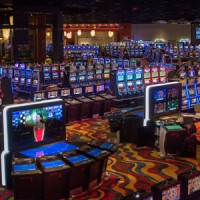 Tons and tons of slot machines